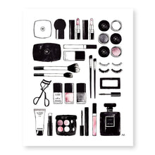 Load image into Gallery viewer, Makeup Cosmetic Art Print - Joy Street