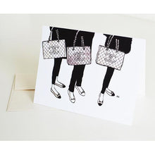 Load image into Gallery viewer, Chanel Bag Card - Joy Street