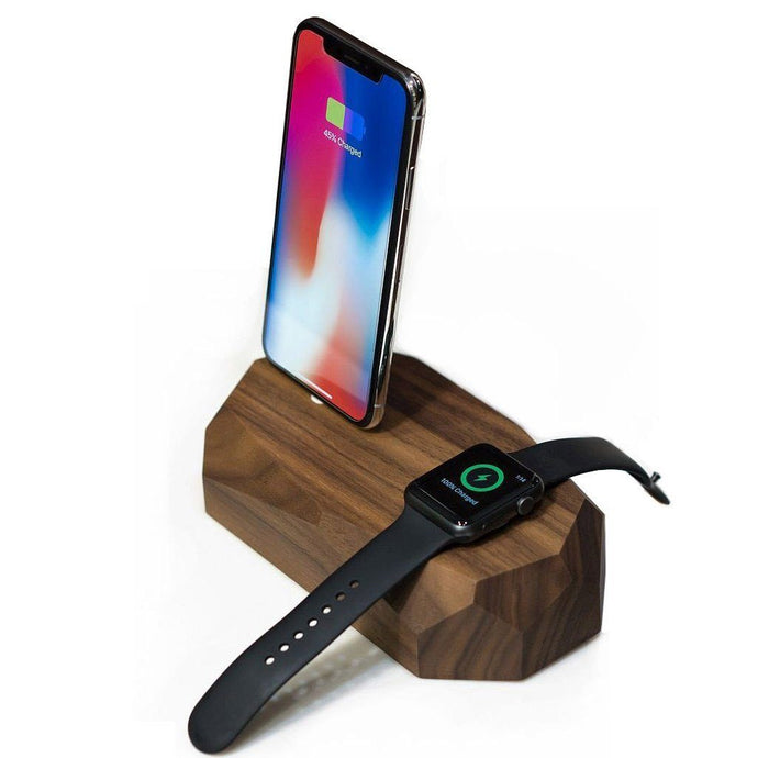 Combo dock - iPhone & Apple Watch charger with Free Charging Cable - Joy Street
