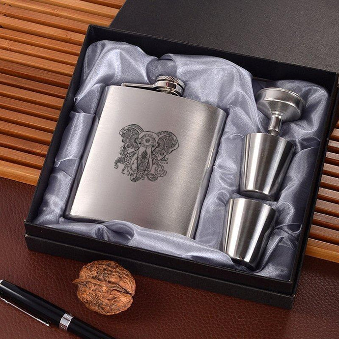 Elephant Wine Flask - Joy Street