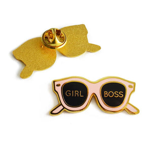 Girl Boss Enamel Pin - Joy Street