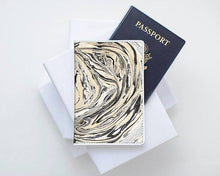 Load image into Gallery viewer, Artsy Leather Passport Cover - Joy Street