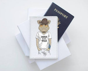 Boar Passport Cover Leather - Joy Street