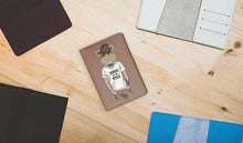Load image into Gallery viewer, Boar Passport Cover Leather - Joy Street