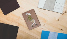 Load image into Gallery viewer, Rabbitty Rabbit Leather Passport Cover - Joy Street