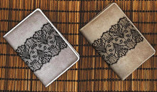 Load image into Gallery viewer, Lace Art Passport Holder - Joy Street