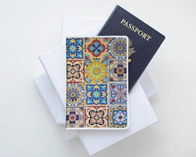 Load image into Gallery viewer, Tile Art Passport Holder - Joy Street