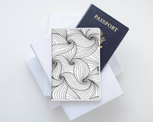 Load image into Gallery viewer, Monochrome Love Passport Cover - Joy Street