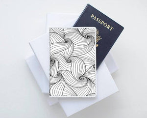 Monochrome Love Passport Cover - Joy Street