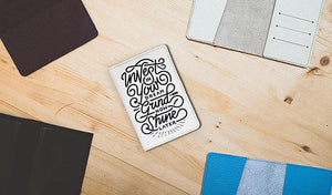 Motivational Passport Cover - Joy Street