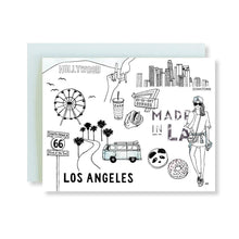 Load image into Gallery viewer, Los Angeles Illustration Card - Joy Street
