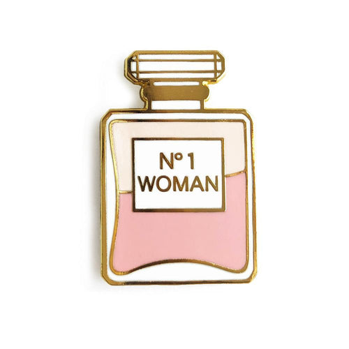 No. 1 Woman Perfume Enamel Pin - Joy Street