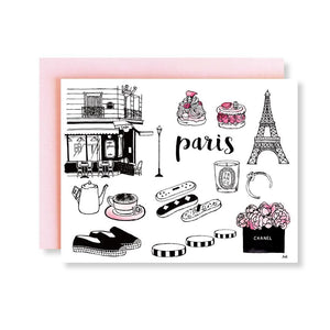 Paris Greeting Card - Joy Street