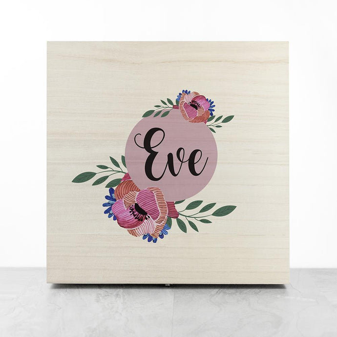 Personalised Blooming Flower Bridesmaid Box - Joy Street