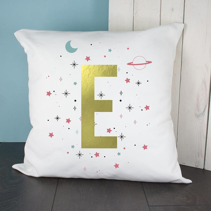 Personalised Space Girl Cushion Cover - Joy Street