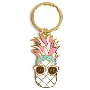 Pineapple Love Keychain - Joy Street