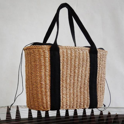 Emelia Rattan Beach Bag - Joy Street