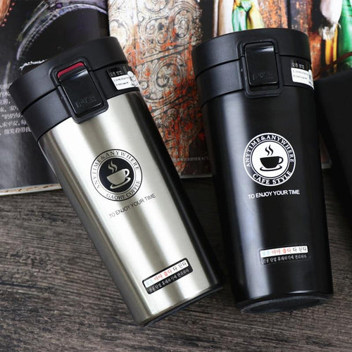 Double Wall Stainless Steel Travel Mug - Joy Street