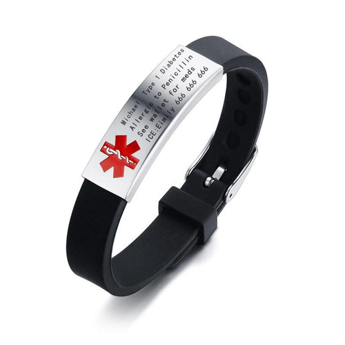Joy Medical Alert ID Bracelet - Personalised - Joy Street