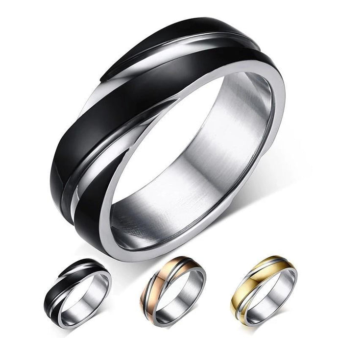 Levi Stainless Steel Ring - Joy Street