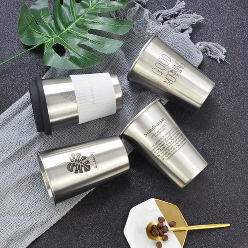Trendy Stainless Steel Coffee Mugs - Joy Street