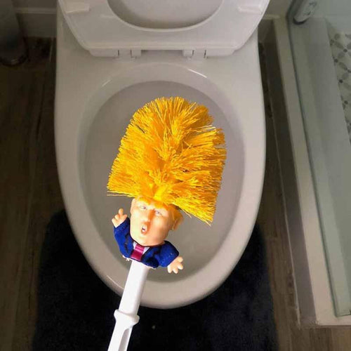 Donald Trump Toilet Brush & Holder - Joy Street
