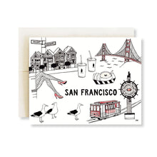 Load image into Gallery viewer, San Francisco Greeting Card - Joy Street