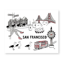 Load image into Gallery viewer, San Francisco Wall Art Print - Joy Street
