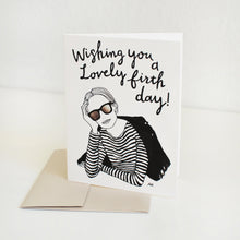 Load image into Gallery viewer, Wishing You a Lovely Birthday Card - Joy Street