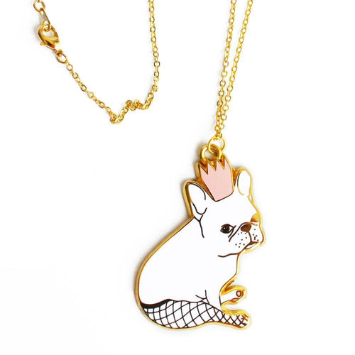Frenchie Love Necklace - Joy Street