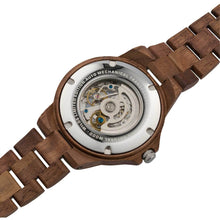 Load image into Gallery viewer, Men's Automatic Walnut Wood Watch w/ FREE Adjustment Tool - Joy Street
