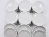 35mm White Plate Dish Barbie Supply Dollhouse Miniature Kitchen Ceramic