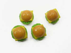 Cheese Burger Bread Dollhouse Food WHOLESALE Supply Charms