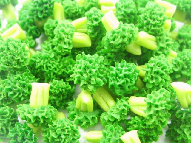 Broccoli Vegetable Dollhouse Miniature Food WHOLESALE Supply Charms