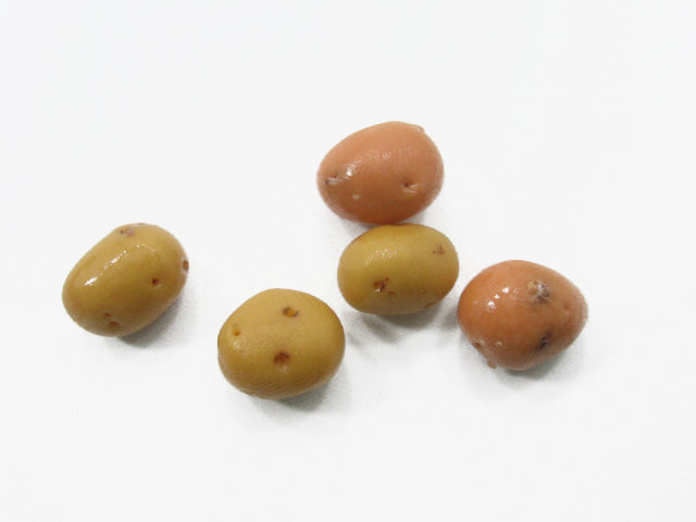 Lot Potatoes Dollhouse Miniature Food Vegetable Supply Charms