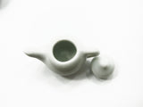 Dollhouse Miniature Kitchen Ceramic 6 White Color Teapots Coffee Pot Supply 4228