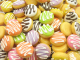 Dollhouse Miniature Food Lot Doughnut Donut Bakery Supply Charms