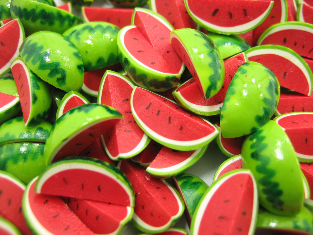 Dollhouse Miniature Food Lot Watermelon Fruit Supply Charms WHOLESALE