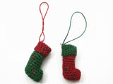 Dollhouse Miniature Christmas Decoration Santa Gift Sock Supply XMAS Supply 7208