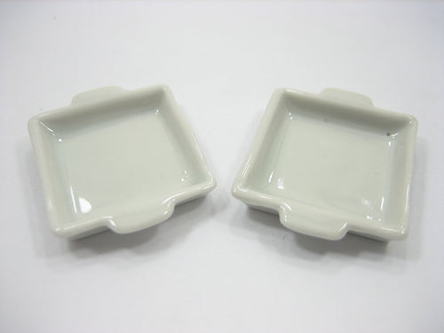 10 Mix Color Pan Tray Dollhouse Miniatures Ceramic Supply Food