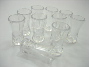 Acrylic Cocktail Glass Dollhouse Miniature Accessories Beverage Supply