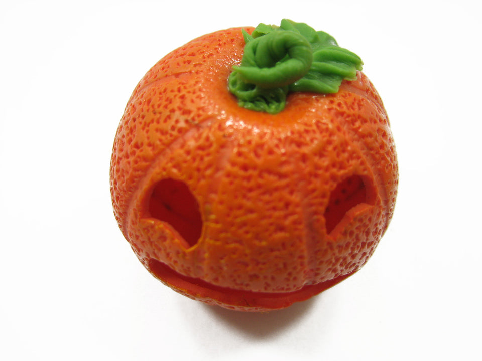 Dollhouse Miniatures Halloween Seasonal Carved Jack-O-Lantern Pumpkin Face 12717