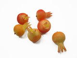 Loose Pomegranates Fruit Dollhouse Miniature Food Fruit Kitchen Supply