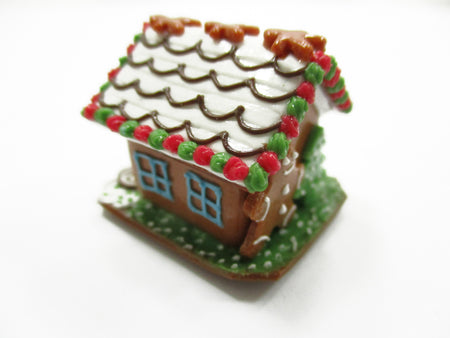 Dollhouse Miniature Christmas Gingerbread House Candy Sweet Holiday A 13770