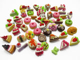 Dollhouse Miniatures Food Lot 50 Mixed Loose Bread Bakery WHOLESALE 14502