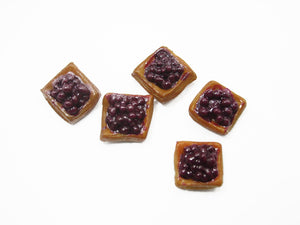 Lot 10 Loose Blueberry Puff Dollhouse Miniatures Food Pastry Bakery 11276