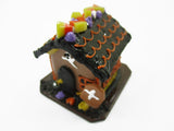 Dollhouse Miniature Halloween Gingerbread House Holiday Seasonal 15441