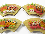Dollhouse Miniature Japanese Food 4 Sushi Bento Lunch Box Curve Supply 15692