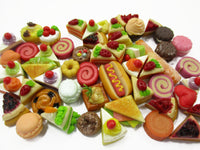 Dollhouse Miniatures Food Lot 50 Mixed Loose Bread Bakery WHOLESALE 15801