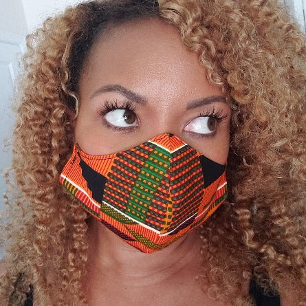 MBL Mask- Kente